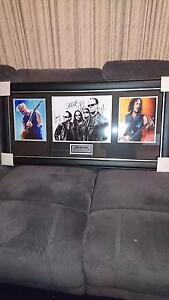 Metallica signed collage Rosewood Ipswich City Preview