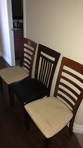 Three Kitchen Table Chairs