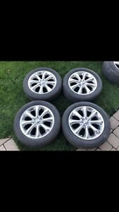 Chrome Mag Wheels and Summer tires