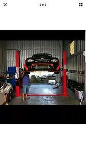 3.5t 2 post single phase 240v 50hz car hoist launch brand Railway Estate Townsville City Preview
