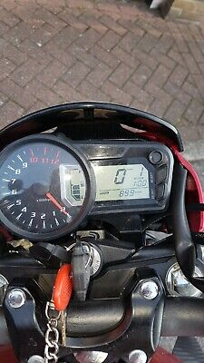 very good condition motorbike with only 899 miles