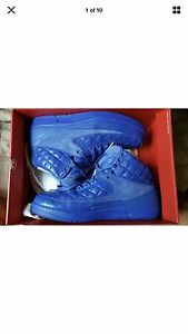 "Nike Air Jordan 2 Retro Just Don ""Don C"" SZ 10.5 BLUE Rare Yeezy"