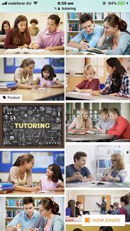 Tutoring maths, science, sociology, geography, English, Economics