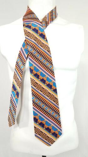 1970s Towncraft Necktie Wide Polyester Tie Vintage