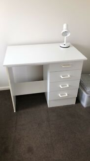 Study Desk - White
