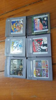 Gameboy, Gameboy advance and Nintendo DS GAMES Warwick Southern Downs Preview