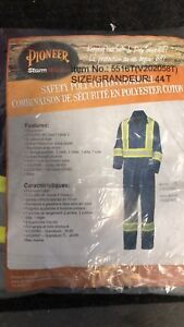 Pioneer High Vis Coveralls