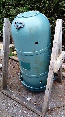 Large rotating garden composter tumbler 220L Tumbleweed