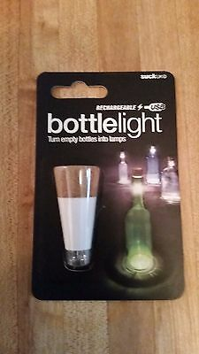 SUCK UK Original and Official Bottle Light, New