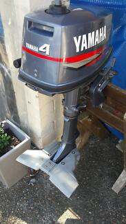 Yamaha 4HP 2 stroke outboard Palm Beach Gold Coast South Preview