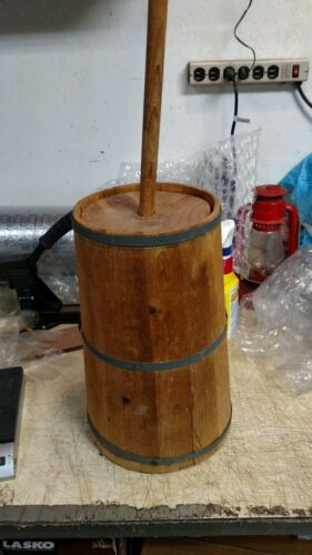 butter churn, wooden, barrel