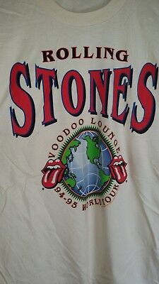 ROLLING STONES 1994-95 Voodoo Lounge vintage licensed concert tour shirt New XL