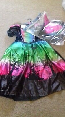 BRAND NEW - GIRLS HALLOWEEN OUTFIT - WITCH - 3-4 YEARS -  box !