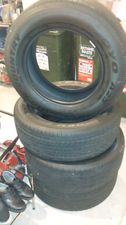 New Toyo open country tyres 255 60 r18