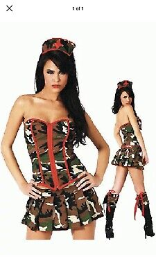 Halloween Costumes Army (Army Medic Costume Camouflage Army Nurse Halloween Army Costume)