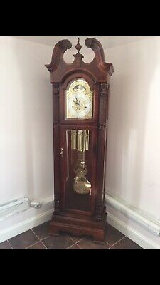 Howard Miller Stewart Deluxe Triple Chiming Trad'l Grandfather Clock