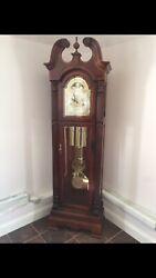 Howard Miller Stewart Deluxe Triple Chiming Trad'l Grandfather Clock