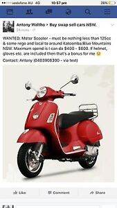 WANTED: Motor Scooter Katoomba Blue Mountains Preview