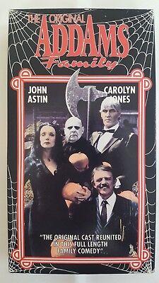 Original Addams Family Halloween (HALLOWEEN WITH THE ORIGINAL ADDAMS FAMILY VHS JOHN ASTIN CAROLYN JONES)