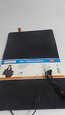 Heizteppich Comforto Heatpro - schwarz RUG 390x590mm NEU