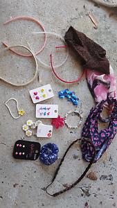 Girls earrings, headbands etc $5 the lot Florey Belconnen Area Preview