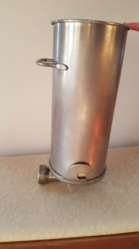 MAKE OFFER Heavy-Duty Commercial Grade Stainless Steel Sausage Stuffer Cylinder