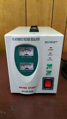 Seven Star Atvr-500 Automatic Voltage Regulator