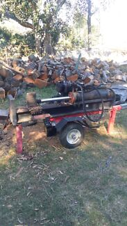 WANTED FIREWOOD LOG SPLITTER ANY CONDITION Petrie Pine Rivers Area Preview