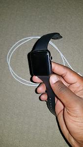 Apple Watch 42mm (ALL BLACK) Geelong Geelong City Preview