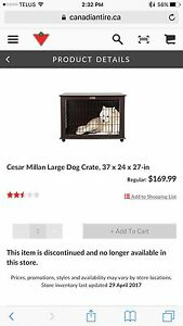 Cesar Milan Dog Crate (large)