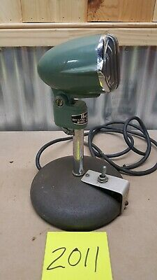 Green Herald Crystal Microphone Atlas Sound Mic M-24A With Stand