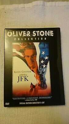 JFK DVD  2-Disc Set - Oliver Stone Directors cut - R1