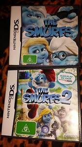 x 2 Smurfs Nintendo DS Games. GREAT STOCKING FILLERS Valley View Salisbury Area Preview