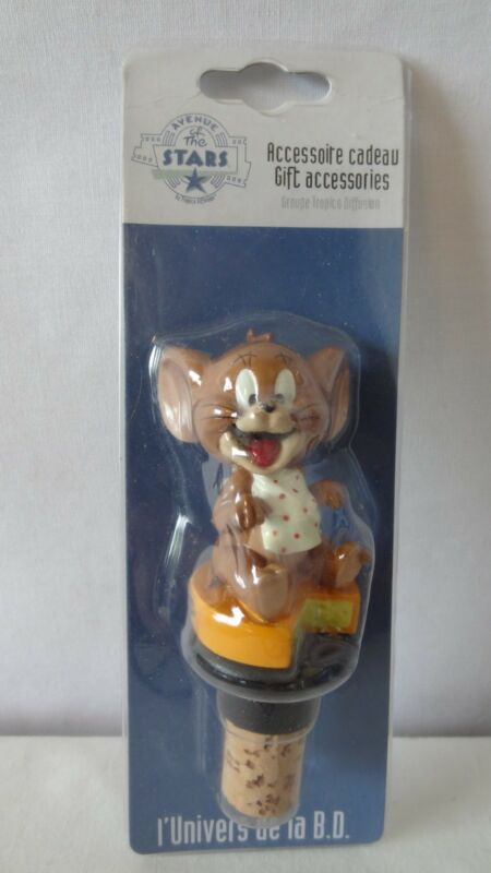 Warner Brothers 2001 Tom And Jerry Avenue Of Stars Jerry Wine Cork MIB #K120