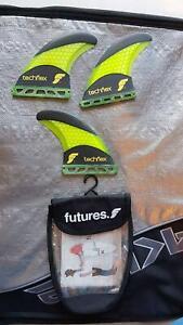 FUTURES F4 SMALL SURFBOARD FINS Kiama Kiama Area Preview