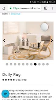 Jute Rug - white & natural tones