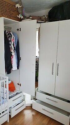 Used corner wardrobe