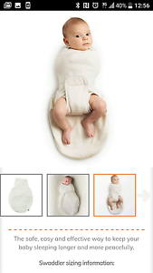 Ergobaby Swaddler Excellent condition, washed not worn. Bonny Hills Port Macquarie City Preview