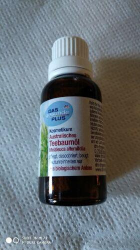Melaleuca alternifolia olio dell'albero del tè australiano 30 ml DM Tea Tree