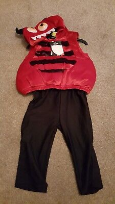 TU Halloween Dressing Up Devil Age 9/12 Months BNWT large   fit up to 2/3  - Halloween Costumes Age 9-12 Months
