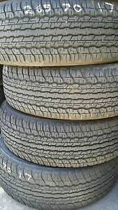 Value For Money!! SET OF DUNLOP AT22 265/70R17 TYRES West Perth Perth City Area Preview