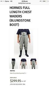 HORNE FULL LENGTH CHEST WADERS Cardiff Lake Macquarie Area Preview