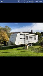 Western Ashburton Twin Bunk Family Caravan