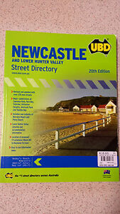 Newcastle Street Directory by Universal Publishers (Paperback, 2007)