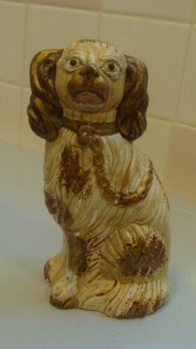 LIBERTY WORKSHOP Replicas of Early American Chalkware Staffordshire Dog Figurine