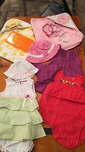 Girls 12m lot, misc items
