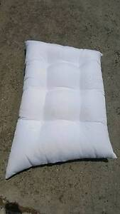 Plain White Angled Cushions (30 Available) Albert Park Port Phillip Preview