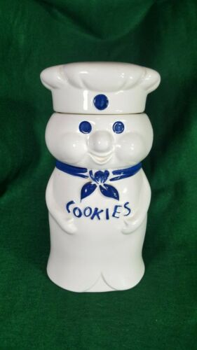 VINTAGE 1973 PILLSBURY DOUGHBOY COOKIE JAR