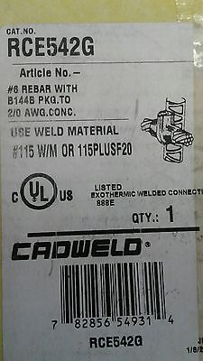 Rce542g Cadwell Erico Rebar To Cable Mold