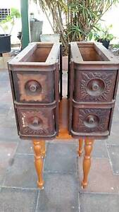 Singer Treadle Sewing Machine Stands & Draws Nerang Gold Coast West Preview